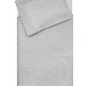 Jollein: Overtrek Ledikant:100 x140 cm: Mini Dots mist grey