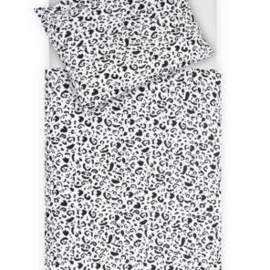 Jollein: Dekbedovertrek Leopard:100X140 cm