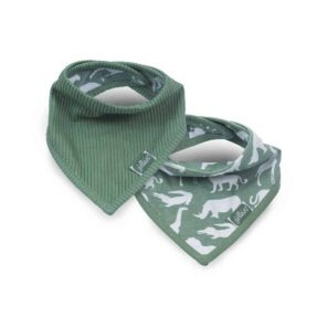 Jollein: Slab bandana Safari forest green (2pack)
