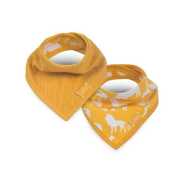 Jollein: Slab bandana Safari ocher (2pack)
