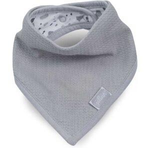 Jollein: Slab bandana Tiny waffle soft grey