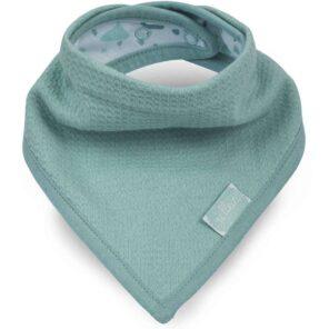 Jollein: Slab bandana Tiny waffle soft green
