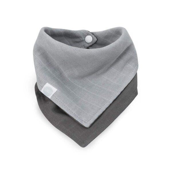 Jollein: Slab 2-pack hydrofiel grey