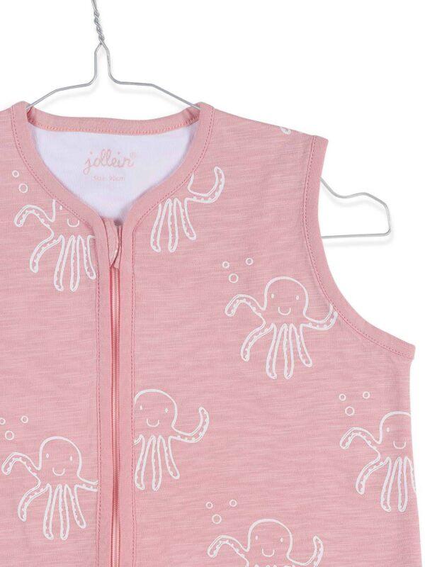 Jollein: zomerslaapzak Octopus Pink 90 cm
