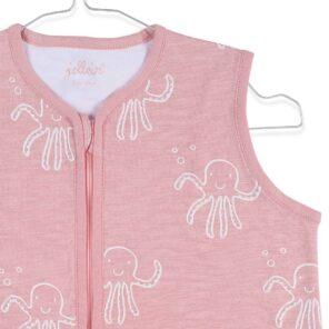 Jollein: zomerslaapzak:70 cm octopus Pink