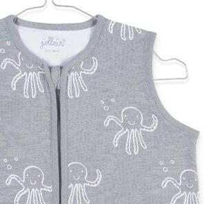 Jollein: zomerslaapzak Octopus Grey 90 cm