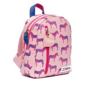 ZEBRA: Rugzak S - zebra pink