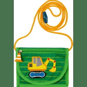 Spiegelburg: Borstbuidel graafmachiene