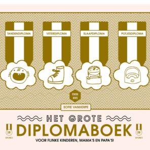 """Lannoo: Mama Baas: """"Het grote diplomaboek"""""""
