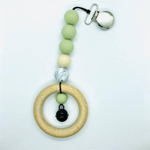 Chew on it: Maxi Cosi hanger: zachtgroen