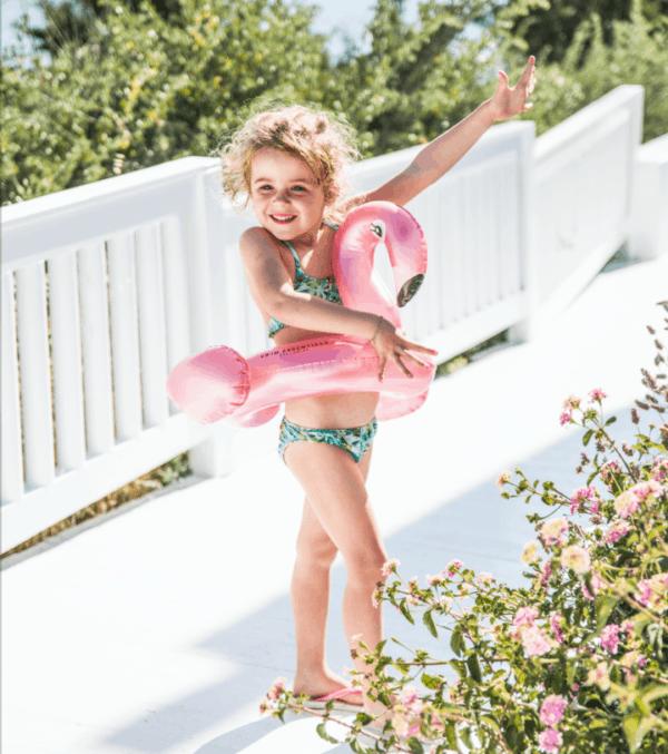 Swim Essentials: Zwemband Kinder flamingo: