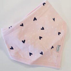 BESS: Pink Bib Hearts