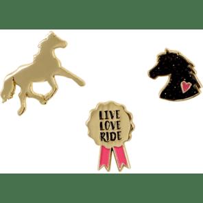 Spiegelburg: Pins paarden