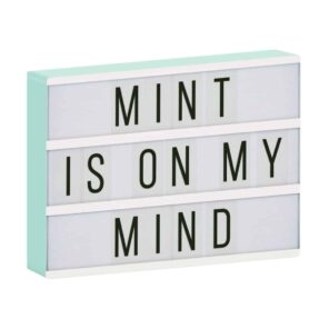 A little Lovely Company: Lightbox A4 -mint