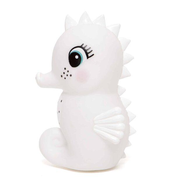 Petit Monkey: Nachtlampje seahorse white