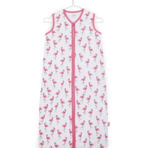 Jollein:Slaapzak: zomer : Jersey Flamingo: 70 cm