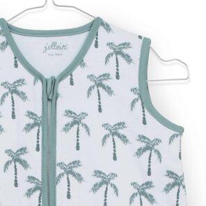 Jollein:Slaapzak: zomer : Jersey Palmtree 90 cm