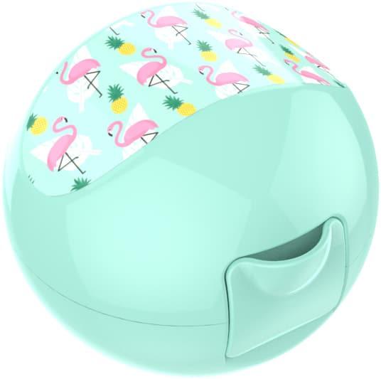Lunch Buddies: Appeldoos Flamingo:Ø 100mm