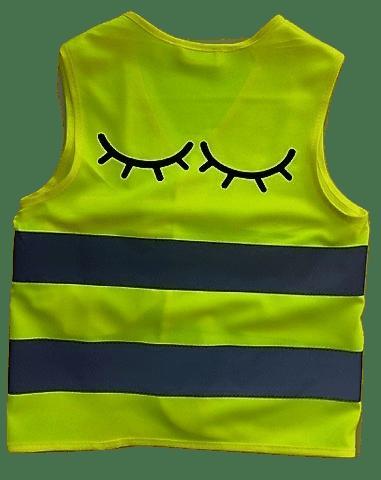 Fluo vestje Sleepy Eyes ( 2.5-5 jaar)