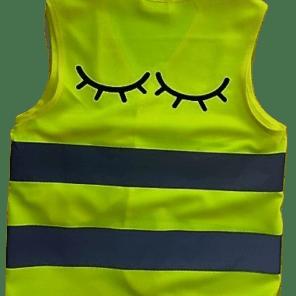 Fluo vestje Sleepy Eyes (6-11 jaar)