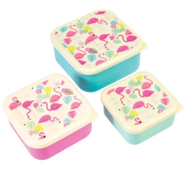 REX: Snackdoosjes Flamingo bay