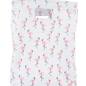 Jollein:Mand XL Canvas Flamingo