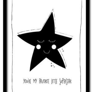 Poster A4: Superstar