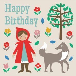 REX:Verjaardagskaart Roodkapje