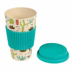Bamboo Travel mug: Dessert in Bloom