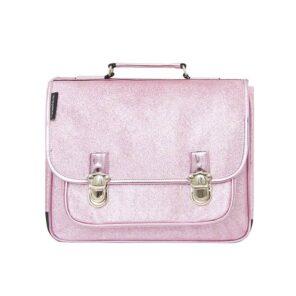 Caramel & Cie: Boekentas Roze glitter: Medium