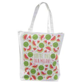Tas met voering Meloen
