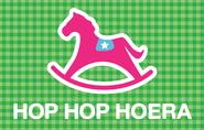 """Kaartje """"Hop hop hoera"""""""