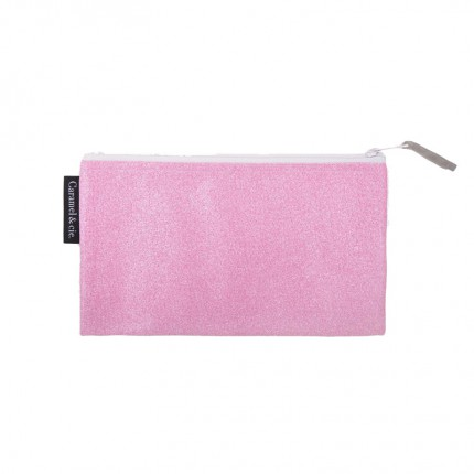 Caramel & Cie: pennenzak roze