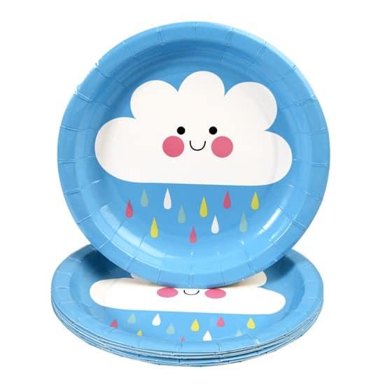 REX: kartonnen borden: Happy Cloud