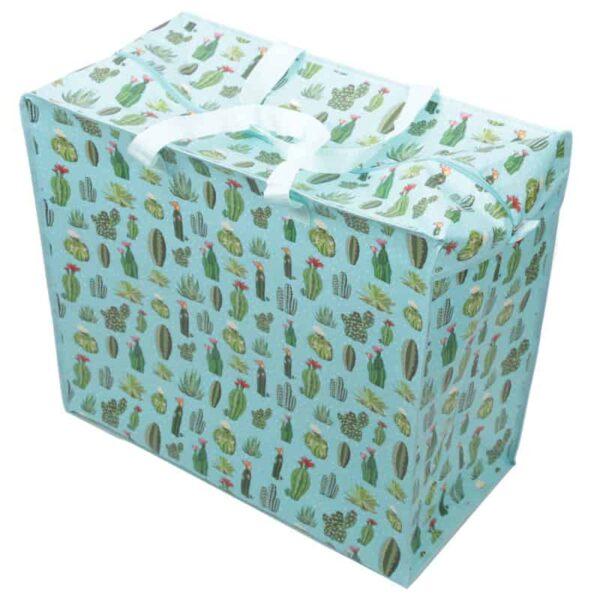 Pucator:Jumbo Bag: cactus blauw-groen