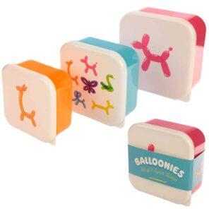 Puckador: Snackdoosjes ballonnen