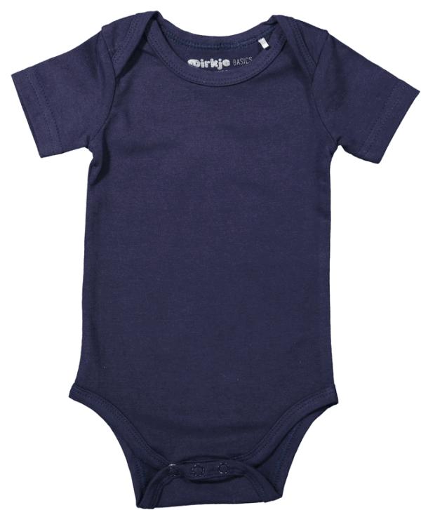 Dirkje:Baby Body short sleeves (Navy)