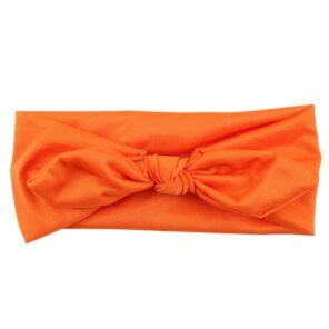 Haarband strik Oranje
