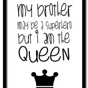 Poster A4: I am a queen