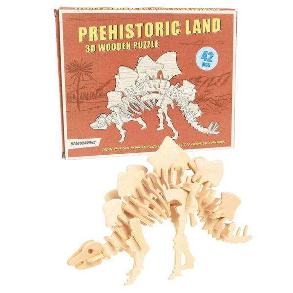 REX:Stegosaurus Wooden Puzzle
