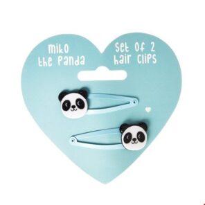 Rex: Haarclips Panda
